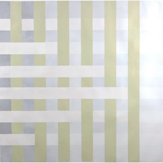 """Lucas Kelly """"Wop29"""", 2018 Neutral Abstract Painting on Paper For Sale"""