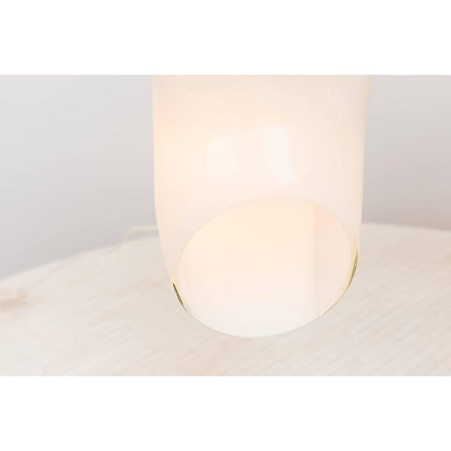 Luciano Vistosi Italian Cased Glass Table Lamp For Sale In San Francisco - Image 6 of 8