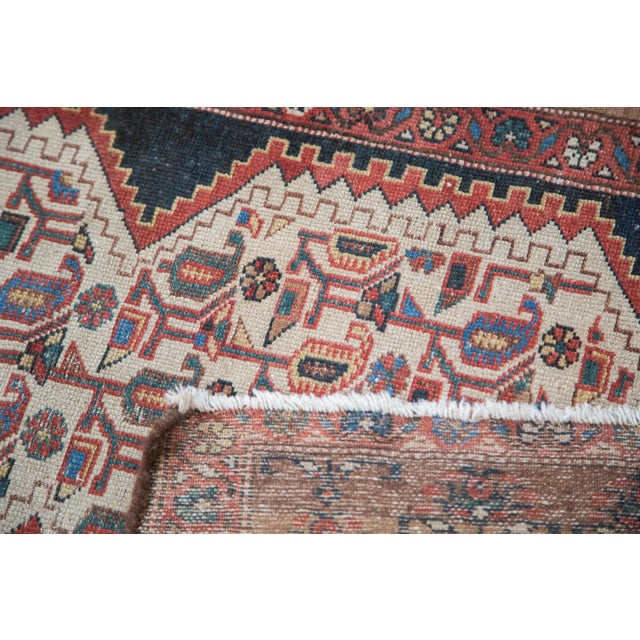 "Distressed Malayer Runner - 3'4"" X 9'2"" - Image 7 of 10"