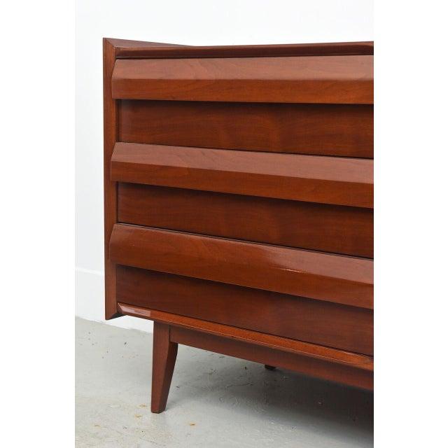 Lane Furniture Lane Mahogany Dresser, 1960s For Sale - Image 4 of 8