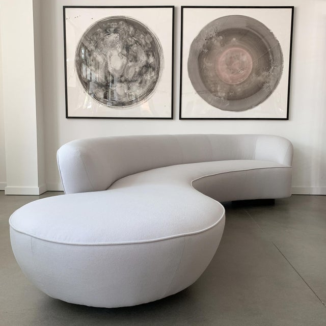 Directional Vladimir Kagan Serpentine Sofa for Directional For Sale - Image 4 of 13