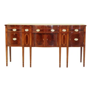Kindel Winterthur Collection Inlaid Mahogany New York Sideboard For Sale