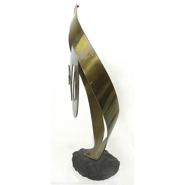 Vintage Brass Kinetic Sculpture - Image 8 of 10