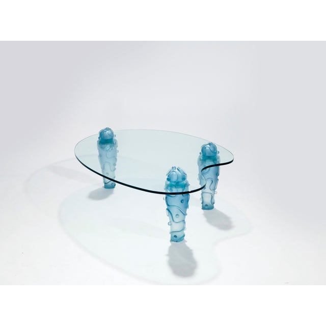 Large Coffee Table by Garouste & Bonetti, 1990s For Sale - Image 11 of 13