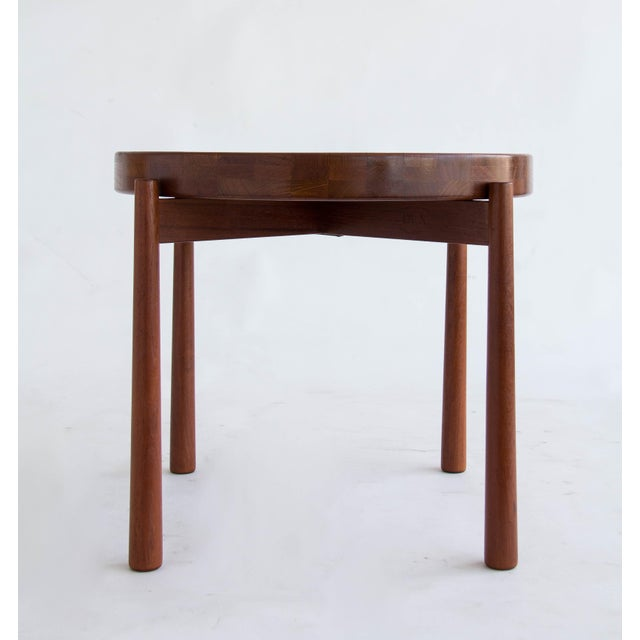Jens Quistgaard for Dux Flip-Top Teak Table - Image 5 of 10