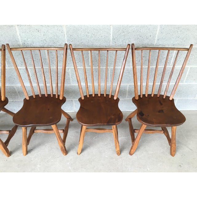 Country Hunt Country Furniture Birdcage Dining Chairs/Windsor Chairs - Set of 6 For Sale - Image 3 of 12