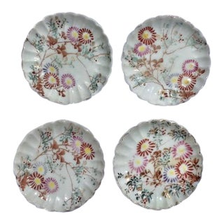 Butter Pats or Trinket Dishes - Set of 4 For Sale