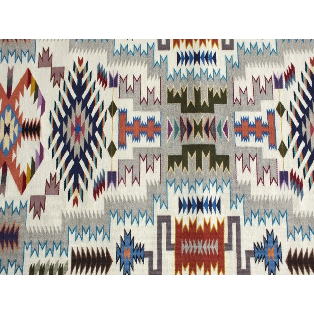 """Navajo Rug Storm Pattern, Lily Touchin -- 2'10"""" x 4'2"""" For Sale In New York - Image 6 of 10"""