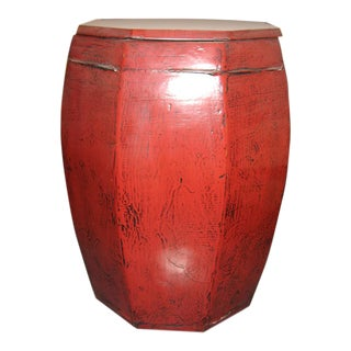 Drum Stool With Lid For Sale