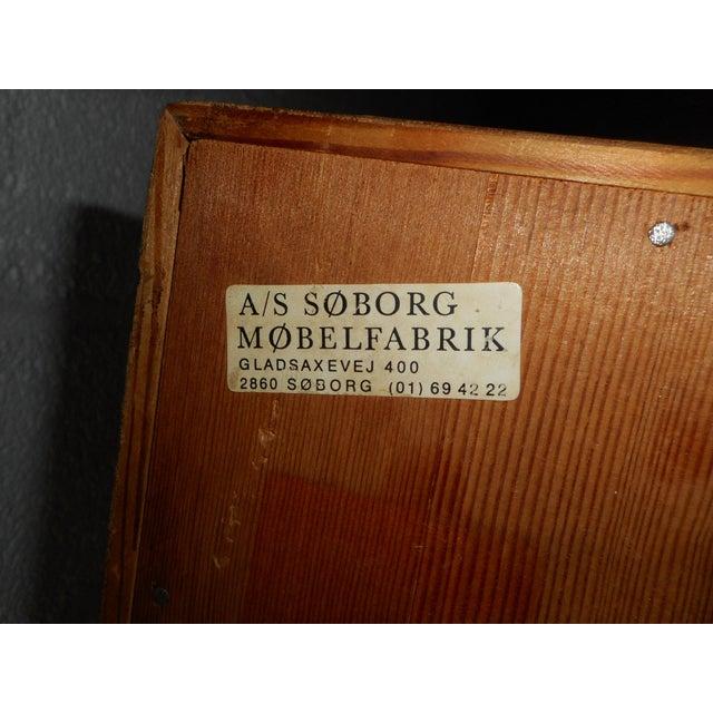 Wood Danish Modern Secretary Desk by Børge Mogensen for Soborg For Sale - Image 7 of 13