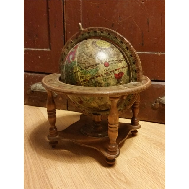 Vintage Italian Mini Old World Horoscope Globe - Image 2 of 8