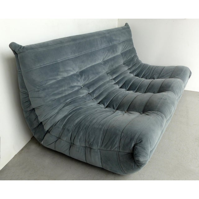 "Michel Ducaroy for Ligne Roset 'France' Togo Three-Seat Sofa Offered for sale is a three person ""Togo"" sofa by Michel..."
