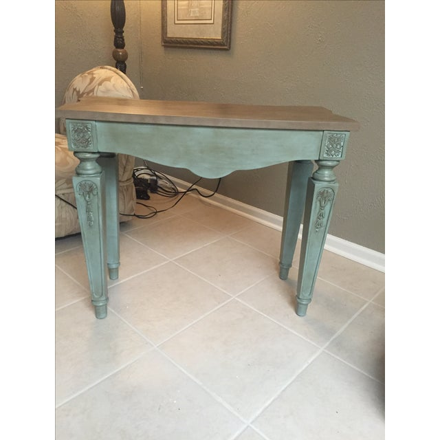 Vintage Console Table and Mirror - Image 6 of 8