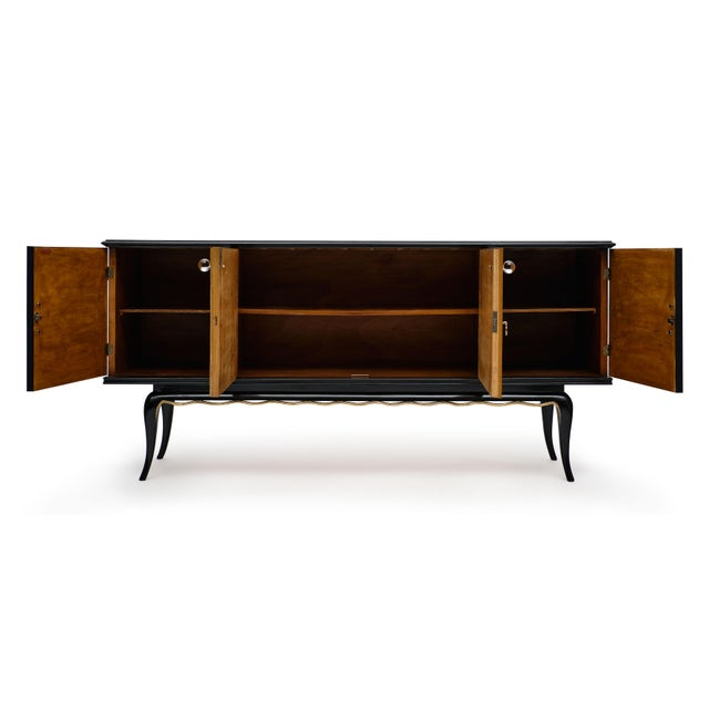 Italian Italian Mid-Century Modern Buffet For Sale - Image 3 of 12