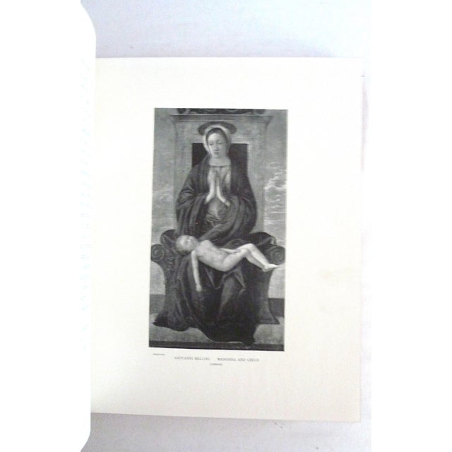 Red 1900s Decorative Leather Book, Meynell's Children of the Old Masters For Sale - Image 8 of 9