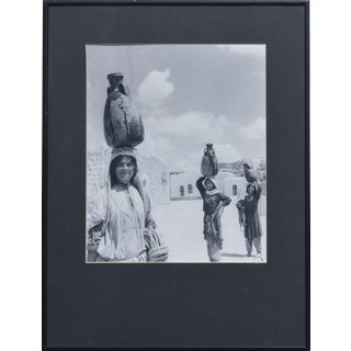 1951 'The Water Carriers, Israel' Photograph For Sale