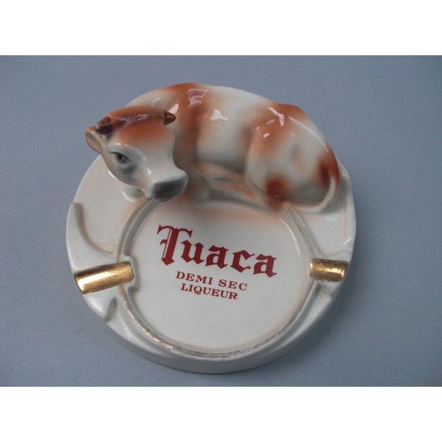 Italian Porcelain Tuaca Ashtray For Sale - Image 4 of 6