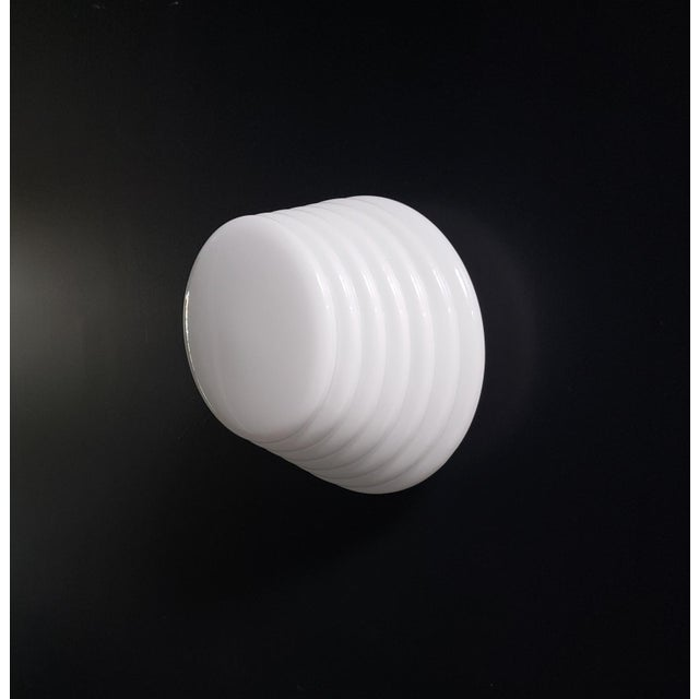 """Mid-Century Modern Italian Modern """"Coban"""" Glass Wall Sconce by Leucos For Sale - Image 3 of 10"""