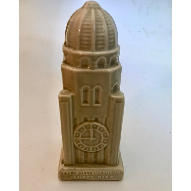 Americana 1954 Nyc Williamsburg, Brooklyn Bank Building Coin Bank For Sale - Image 3 of 11