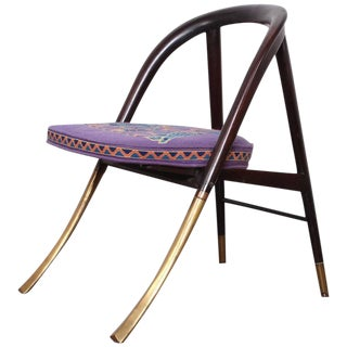 "Edward Wormley ""a Chair"" for Dunbar For Sale"