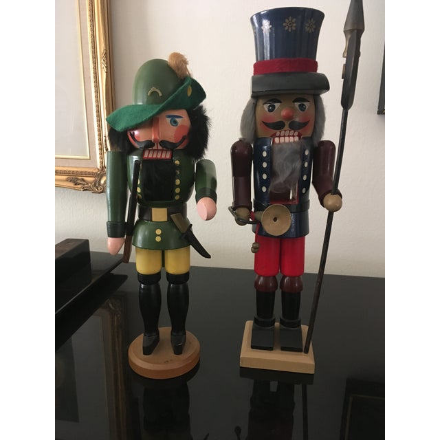 Vintage German Nutcrackers - A Pair For Sale In New York - Image 6 of 7