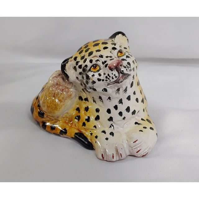 Italian Mid Century Italian Leopard Cubs - Set of 3 For Sale - Image 3 of 7