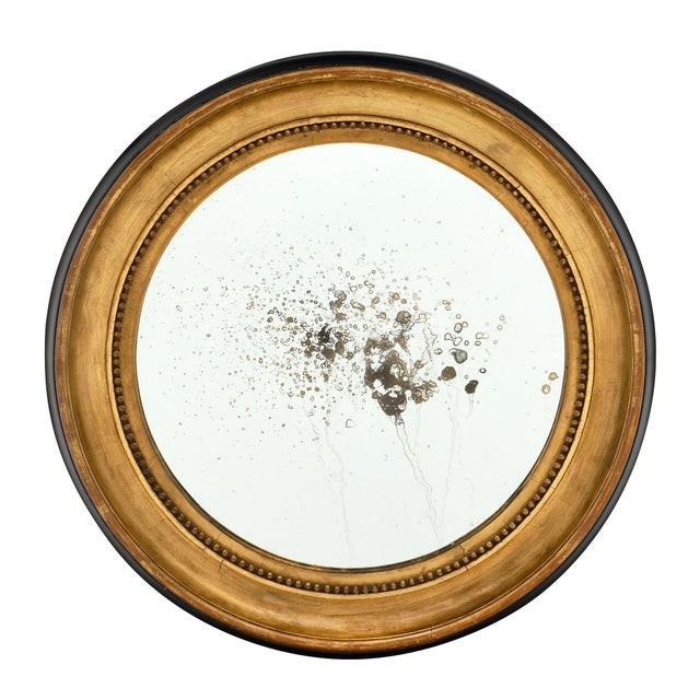 Louis XVI Period French Round Mirror For Sale - Image 10 of 10