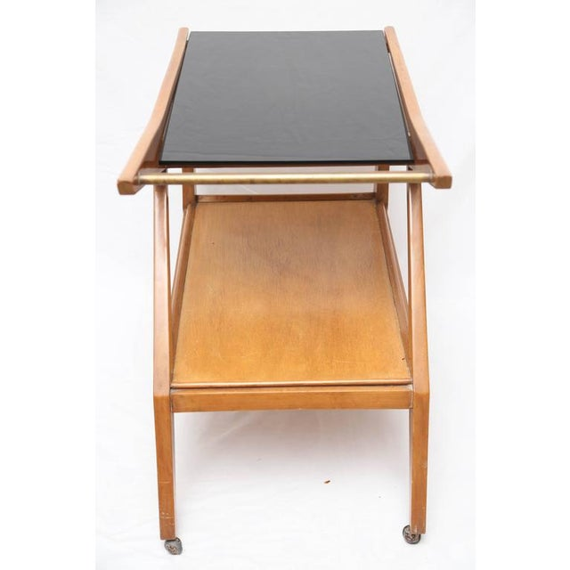 1950s Tilly Stickell Mid-Century Modern Bar Cart, 1950s For Sale - Image 5 of 9