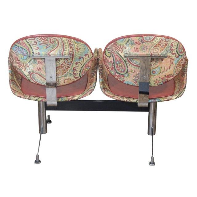 Faultless-Doerner Steel Base Tandem Seating For Sale - Image 5 of 11