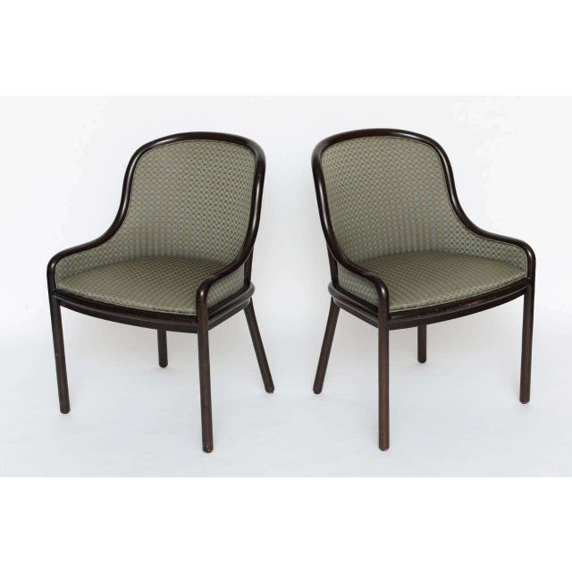 Contemporary Pair of Ward Bennett Chairs for Brickell 1970s For Sale - Image 3 of 10