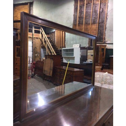 Phenix Furniture Co. Mid-Century Modern Dresser with Mirror For Sale - Image 4 of 8