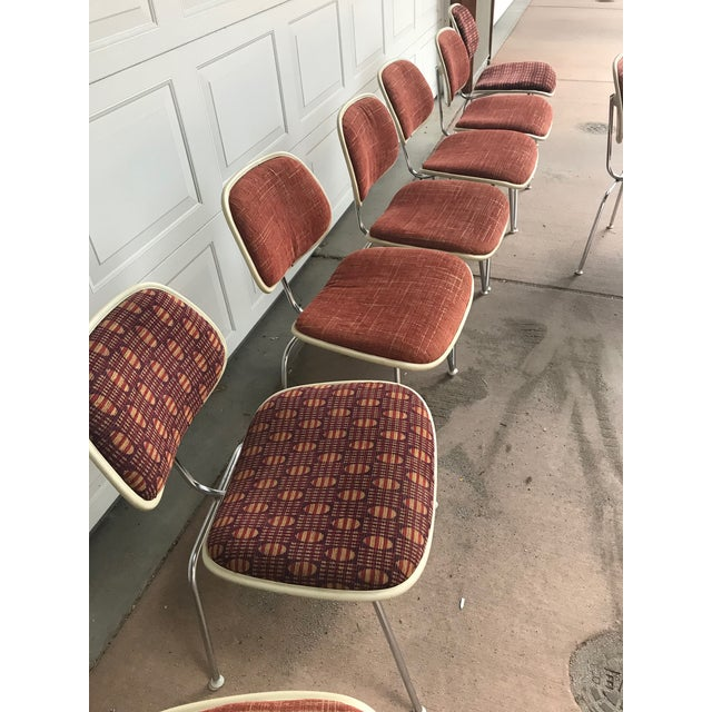 1970s Eames for Herman Miller DCM Chairs - Set of 8 For Sale In Denver - Image 6 of 13