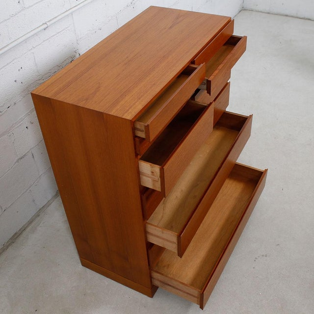 Vinde Mobelfabrik Vinde Mobelfabrik Danish Modern 10-Drawer Dresser For Sale - Image 4 of 10
