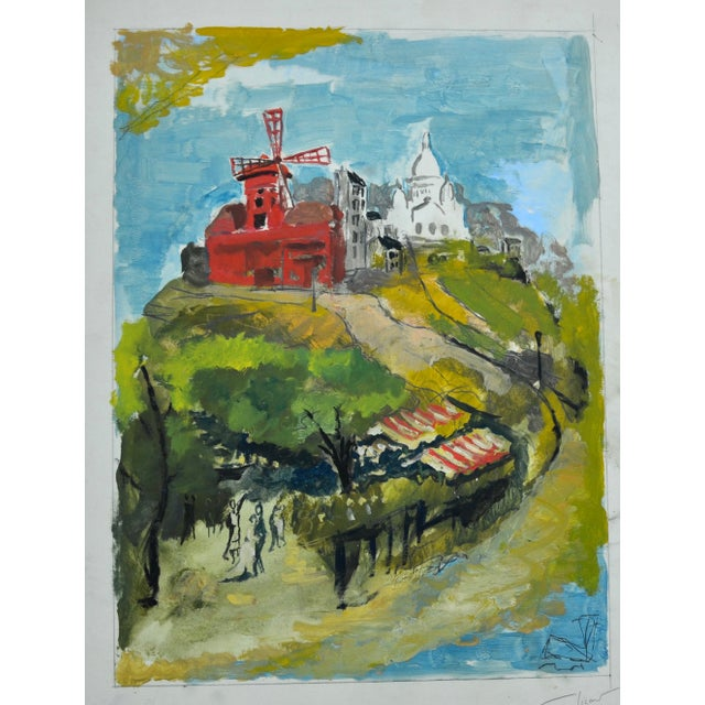 Pierre Sicard Painting For Sale - Image 4 of 4
