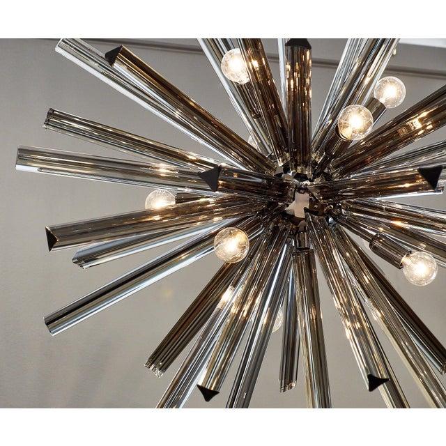 Customizable Italian Murano Glass Sputnik Chandelier For Sale In Austin - Image 6 of 9