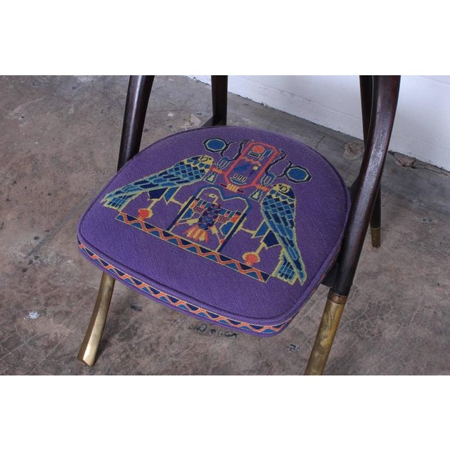 "Edward Wormley ""a Chair"" for Dunbar For Sale In Dallas - Image 6 of 10"