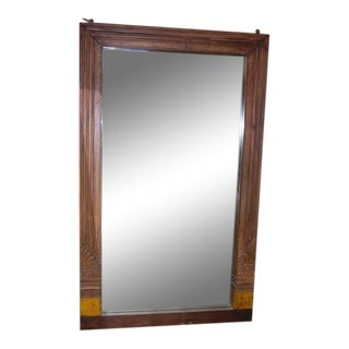 Large Carved Mirror For Sale