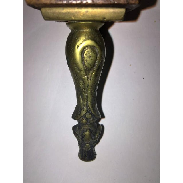 Black Amazing Italian Hand-Carved 19th Century Fire Bellows For Sale - Image 8 of 10