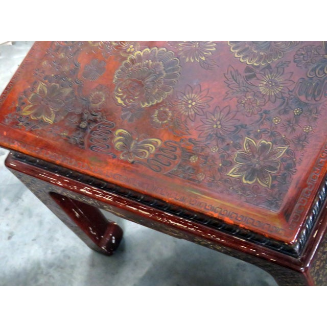 20th Century Asian John Widdicomb Side Tables - a Pair For Sale In Philadelphia - Image 6 of 9