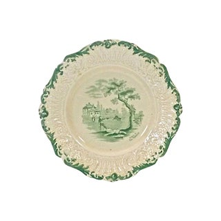 Antique Ridgways Scenic Plate For Sale