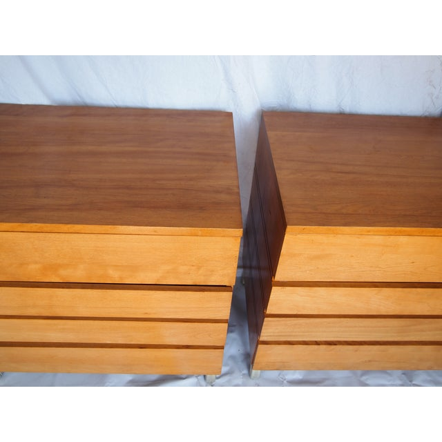 Industrial Mid-Century Chests by Kensington- A Pair For Sale - Image 3 of 6