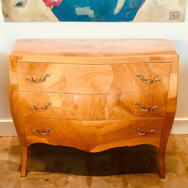 Brown Mid-Century Modern Bombay Chest For Sale - Image 8 of 8