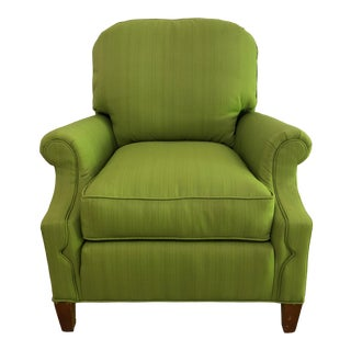 Vintage Mid- Century Green Lounge Chair For Sale