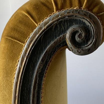 Italian 19th Century Venetian Recamier For Sale - Image 3 of 13