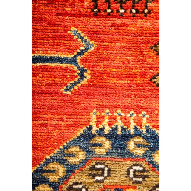 "Contemporary Ersari Hand-Knotted Rug - 8' X 9'10"" - Image 3 of 3"