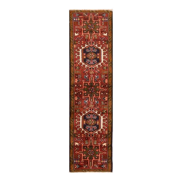 "Apadana - Vintage Persian Heriz Rug, 1'7"" x 6'3"" For Sale"