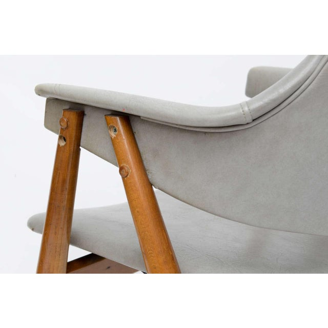Plastic Wooden MCM Chair Attributed to Paul McCobb 1950 For Sale - Image 7 of 10