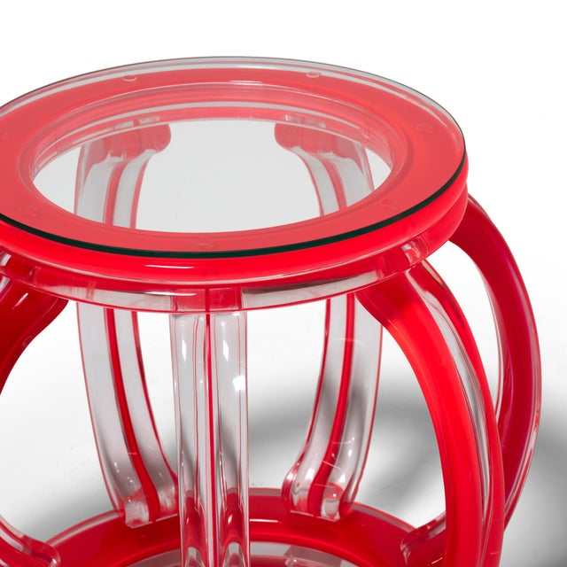 Not Yet Made - Made To Order Mirage Stool by July Zhou For Sale - Image 5 of 7