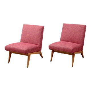 Pair of Jens Risom 21 Chair 1940s USA for Knoll Associates