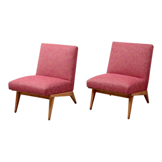 Pair of Jens Risom 21 Chair 1940s USA for Knoll Associates For Sale